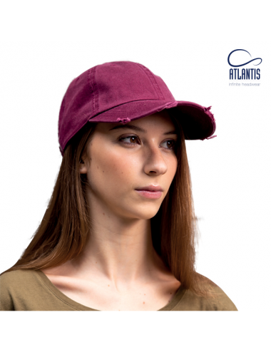 Atlantis Dad Hat Destroyed cap