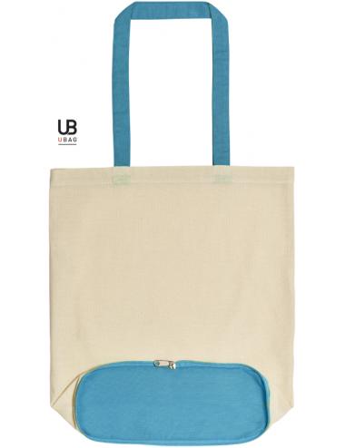 U-bag Reno nat-turquoise